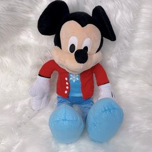 Mickey Mouse Snowflake Stuffed Toy 20 Inches
